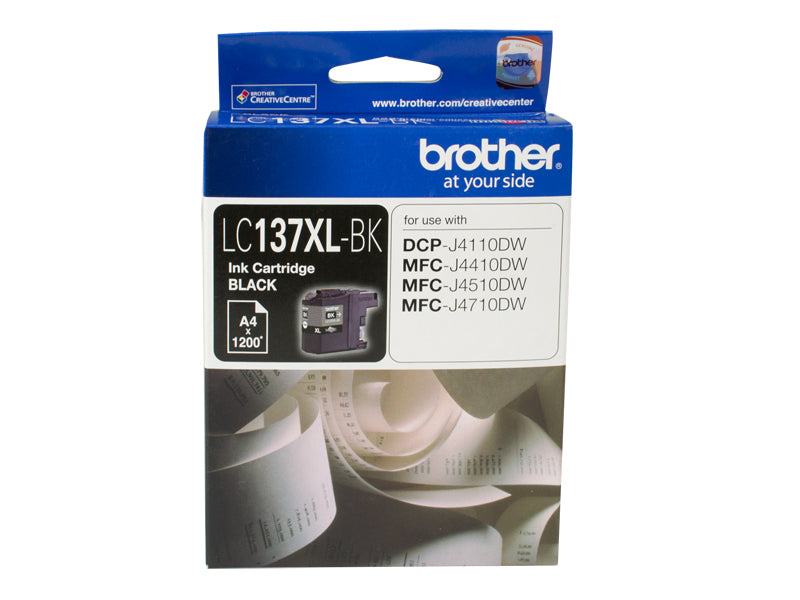 BLACK INK CARTRIDGE TO SUIT DCP-J4110DW/MFC-J4410DW/J4510DW/J4710DW - UP TO 1200 PAGES