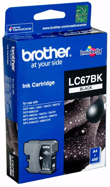 Black Ink Cartridge For Dcp 385 C