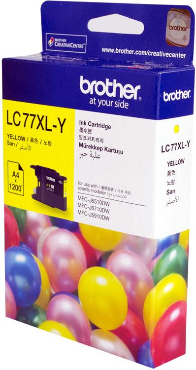 YELLOW SUPER HIGH YIELD INK CARTRIDGE - UP TO 1200 PAGES
