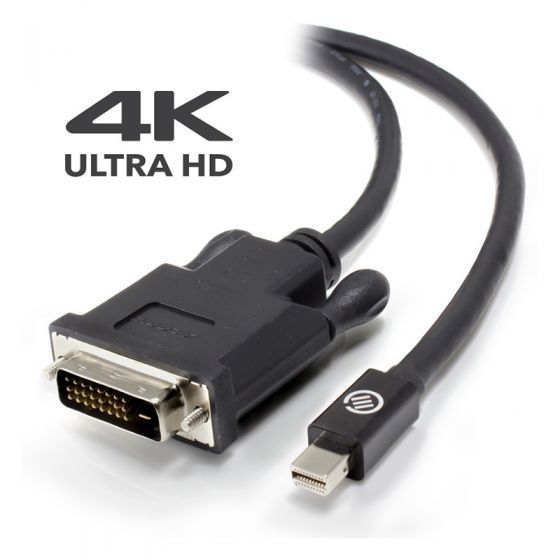 Alogic Elements Active  2m Mini Display Port To Dvi D Cable With 4 K Support    Male To Male   Moq:3