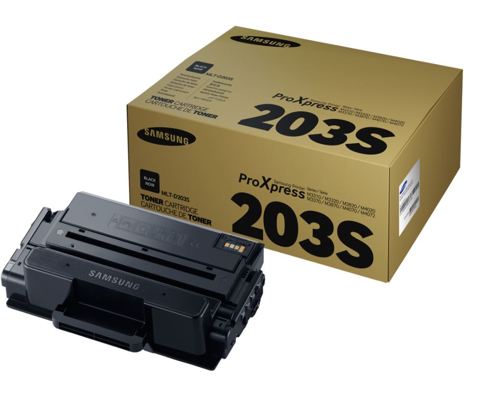 Samsung Mlt D203 S Black Toner Cartridge