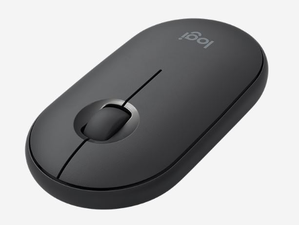 Logitech Pebble Wireless Mouse - Graphite