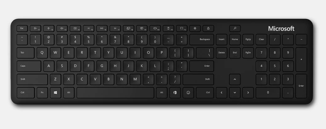 Microsoft Bluetooth Keyboard Black
