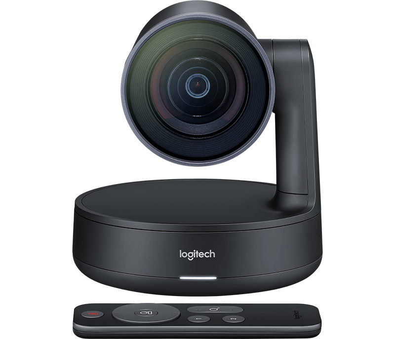 Logitech RALLY: 4k Ultra-HD video, 15x HD Zoom, 90 view, Motorized pan/tilt, RF Remote Control (Camera Only)