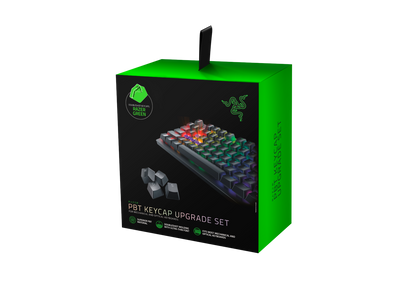 Razer Pbt Keycap Upgrade Set   Razer Green   Frml Packaging