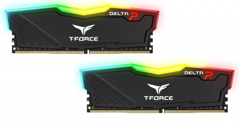 Team Delta Rgb 32 Gb (2x16 Gb) Dimm Ddr4 3200 M Hz Dram Black