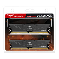 T-Force Vulcan Z 16GB (2x8GB) DRAM DDR4 3000MHz DIMM Grey heatspreader