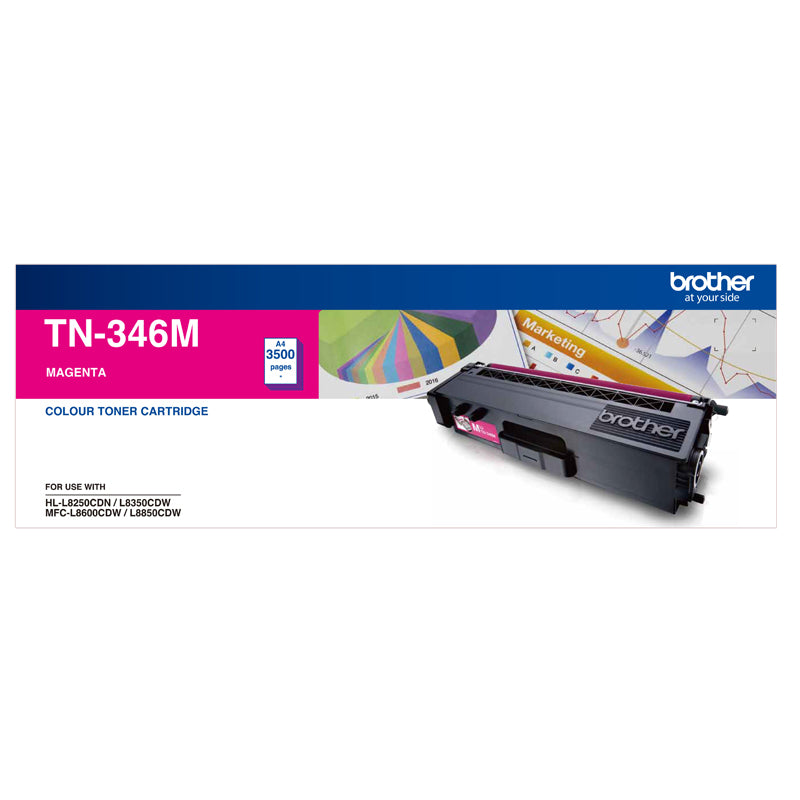 High Yield Magenta Toner To Suit Hl L8250 Cdn/8350 Cdw Mfc L8600 Cdw/L8850 Cdw   3500 Pages