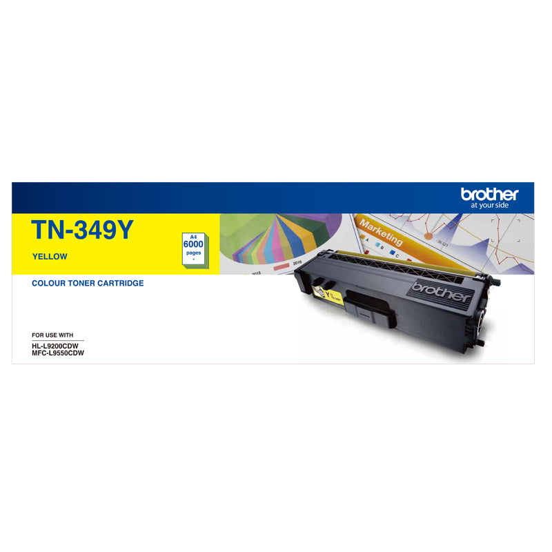 Super High Yield Yellow Toner To Suit Hl L9200 Cdw Mfc L9550 Cdw   6000 Pages