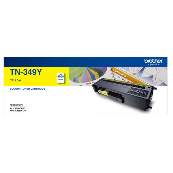 SUPER HIGH YIELD YELLOW TONER TO SUIT HL-L9200CDW MFC-L9550CDW - 6000Pages