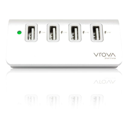 Alogic 4 Port Usb Charger With Smart Charge   4 X 2.4 A Outputs   Prime Series    Moq:2