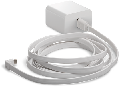 Arlo Indoor Power Cable (3m) And Adapter  Designed For Arlo Pro & Arlo Pro 2 Wire Free Cameras & Arlo Security Lights (Vma4800)