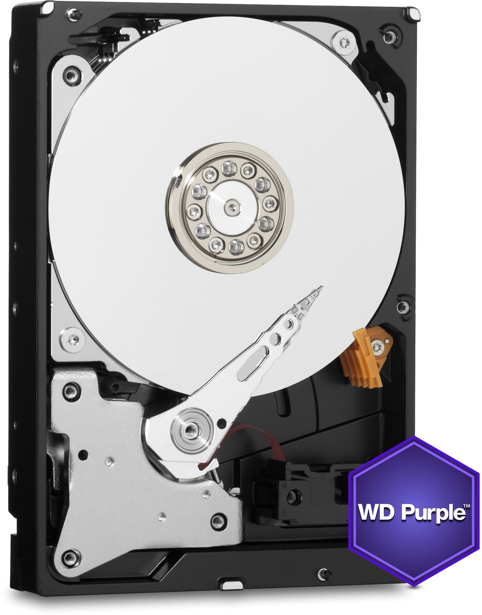 "3.5"" Wd Purple,6 Tb,Intellipower,64 Mb,Sata Iii,(6 Gbps),3 Yrs"