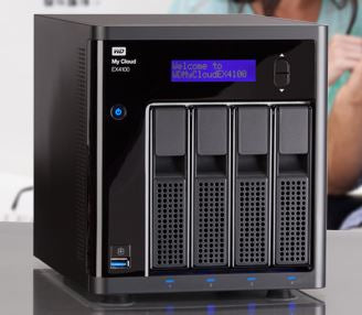 My Cloud Ex4100 Expert Series 4 Bay 8 Tb Nas,1.6 G Hz Dual Core Cpu,2 Gb Ddr3,Raid,Backup,Media Server   Black