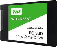 Wd Green 3 D Nand Ssd, 2.5 Form Factor, Sata Interface, 120 Gb, Cssd Platform, 3 Yr Warranty