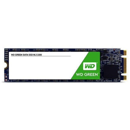 Wd Green 3 D Nand Ssd, M.2 Form Factor, Sata Interface, 120 Gb, Cssd Platform, 3 Yrs Warranty