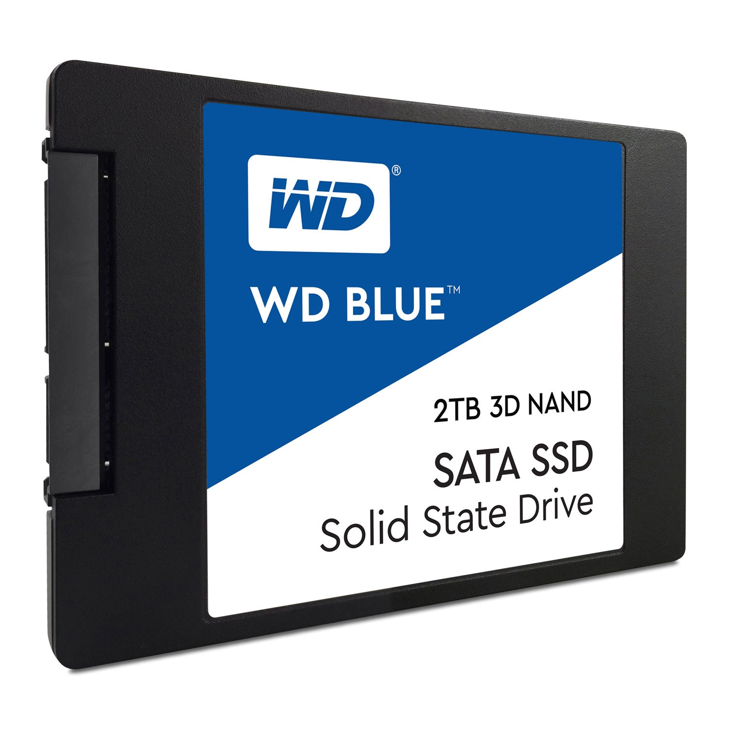 Wd Blue 3 D Nand Ssd, 2.5 Form Factor, Sata Interface, 2 Tb, Cssd Platform, 5 Yr Warranty