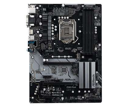Asrock Motherboard,Cpu:Supports 9th And 8th Gen Intel Core Processors (Socket 1151);Chipset:Intel Z390;Memory:Dual Channel Ddr4 Memory Technology