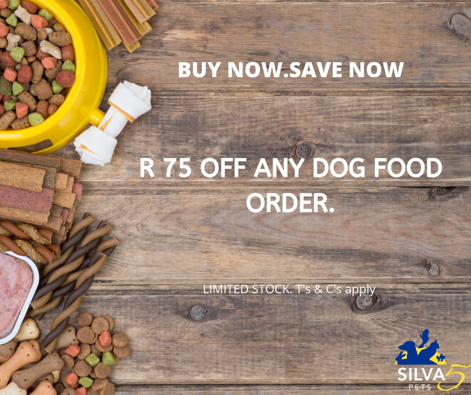 Buy Dog food online in South Africa at silva5pets.co.za