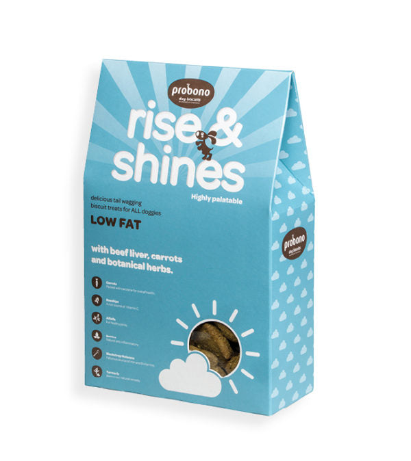 probono rise n shine dog biscuit treats snacks silva 5 pets south africa