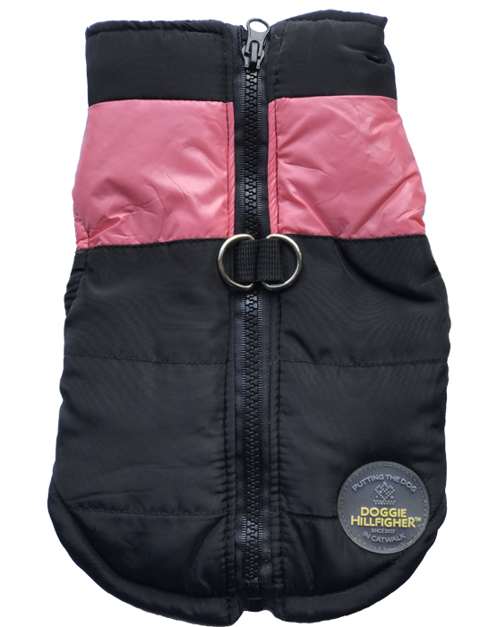 Bounce Parka Harness Dog Jacket - Pink