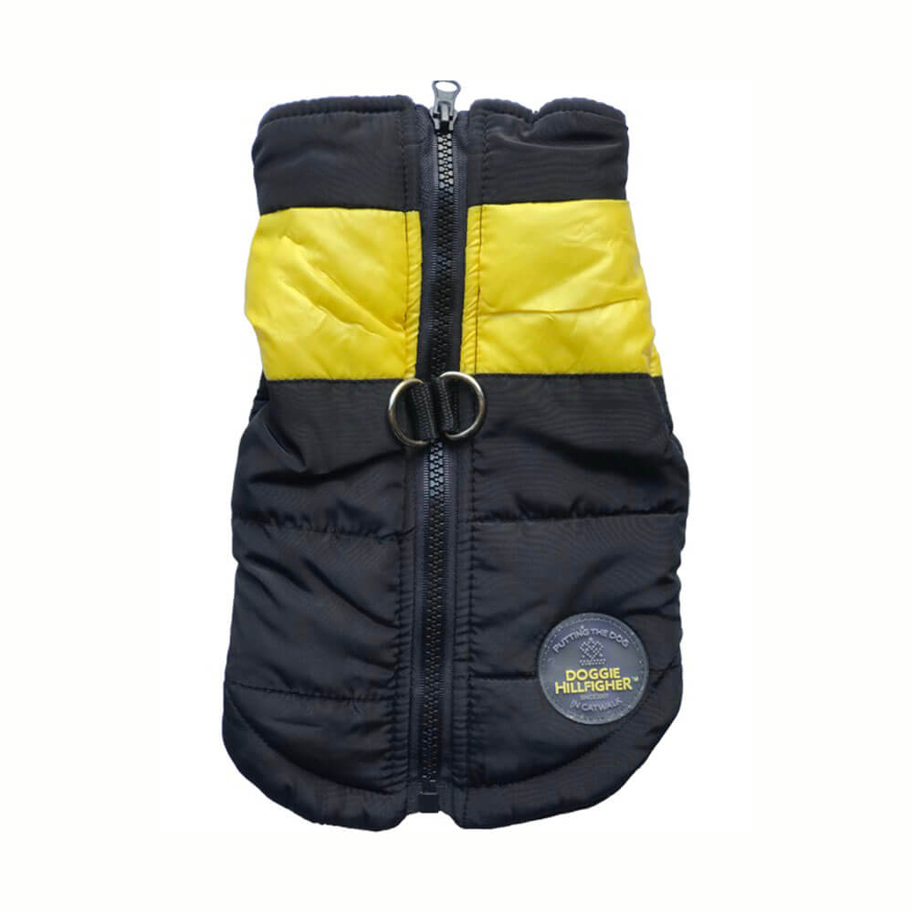 Bounce Parka harness - Yellow silva-5-pets Doggie Hillfigher