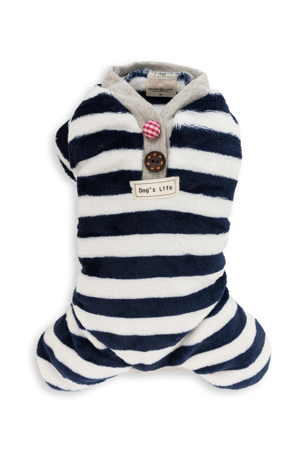 Dog's Life Sweet Candy Stripe PJ - Blue