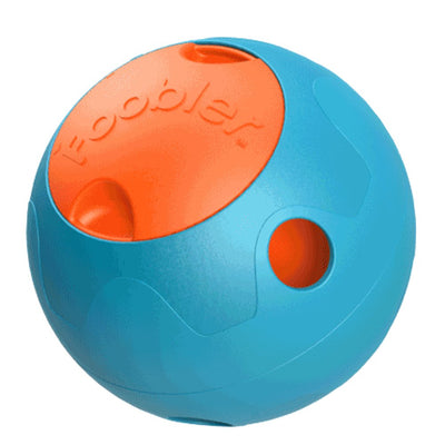 Foobler Automatic Self-reloading Classic Smart Dog Toy.  15cm (Blue&orange)