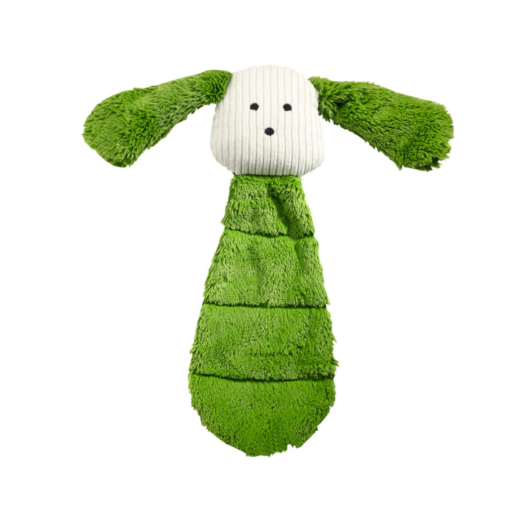 Hunter Plushy Green Chew Dog Toy .