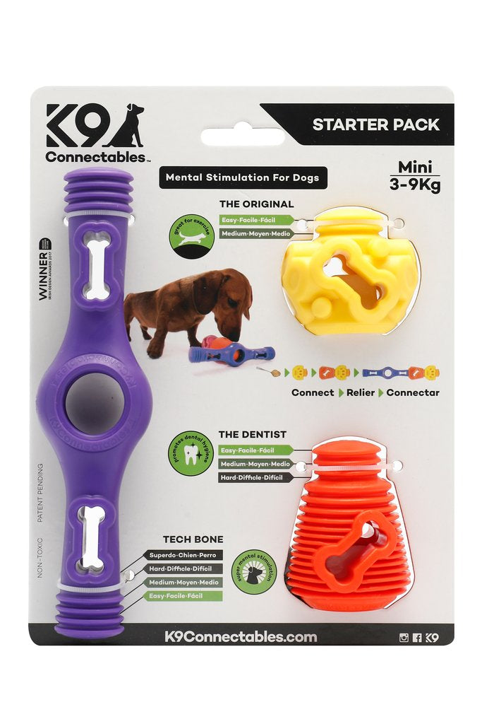 K9 Connectables Dog Toy  Starter Pack silva-5-pets K9 Connectables