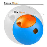 Mini Foobler Dog Toy  -10cm (Blue & Orange)