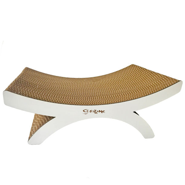 Camel Thorn Cat Lounger Circle silva-5-pets Scratzme