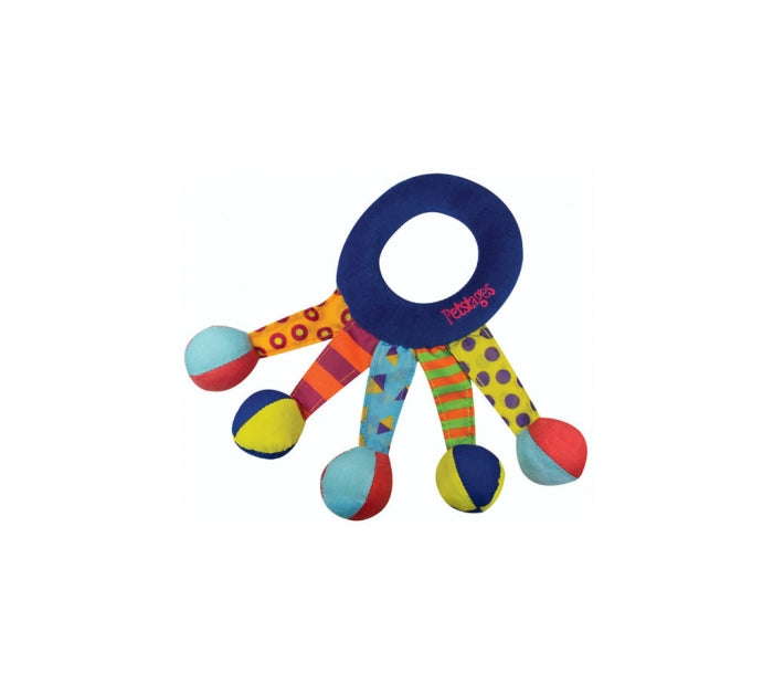 Toss and Shake Dog Toy