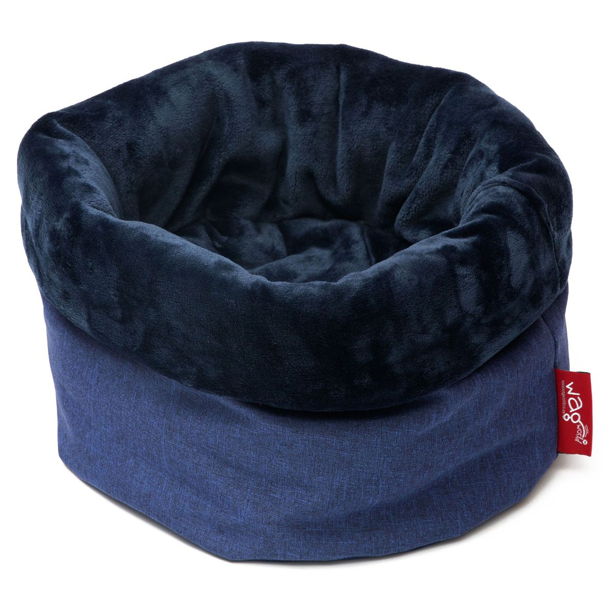 Wagworld Nap Sack Bed for small dogs / cats- Blue
