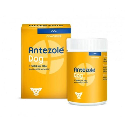 Antezole Dog Deworming tablets - 50 tabs