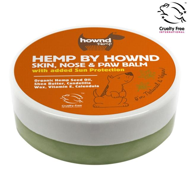 Hemp by Hownd  skin, nose and paw balm with sun protection silva-5-pets Hownd