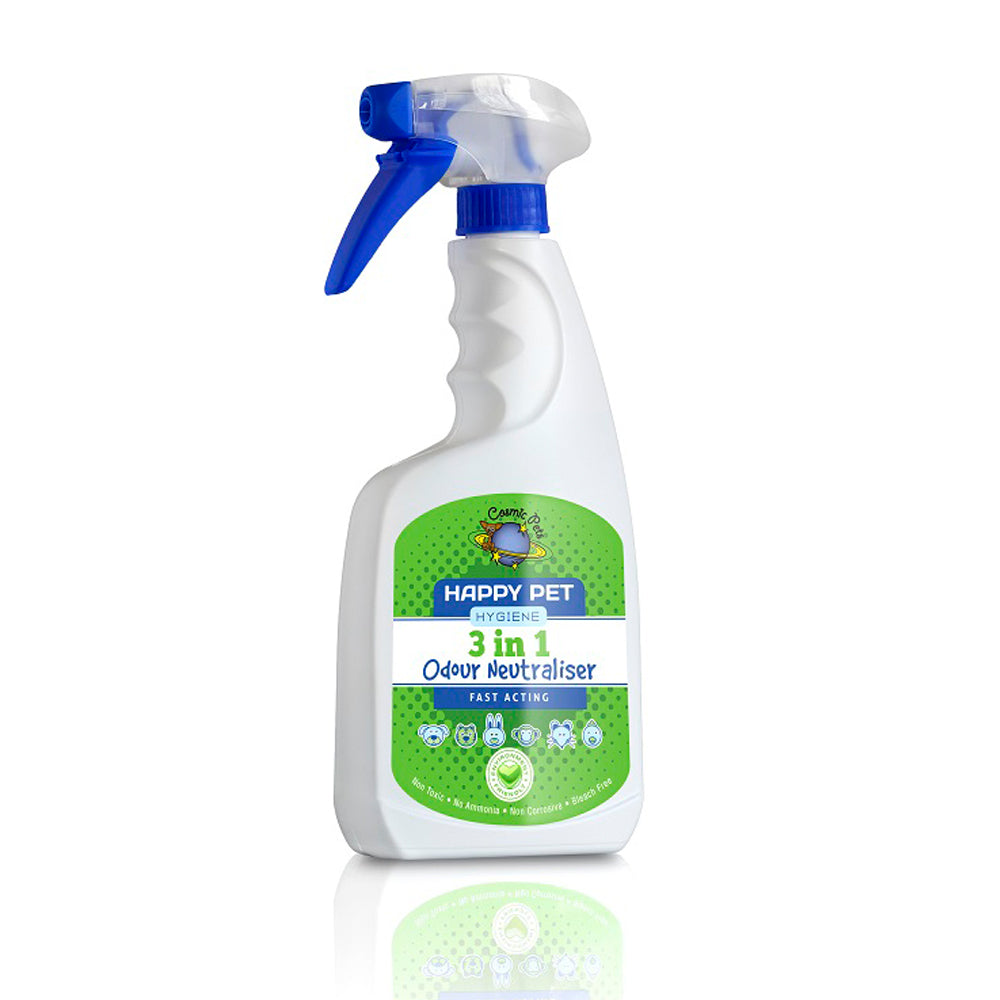 Happy Pet 3 in 1 Odour Neutraliser - 500ml silva-5-pets Cosmic Pets