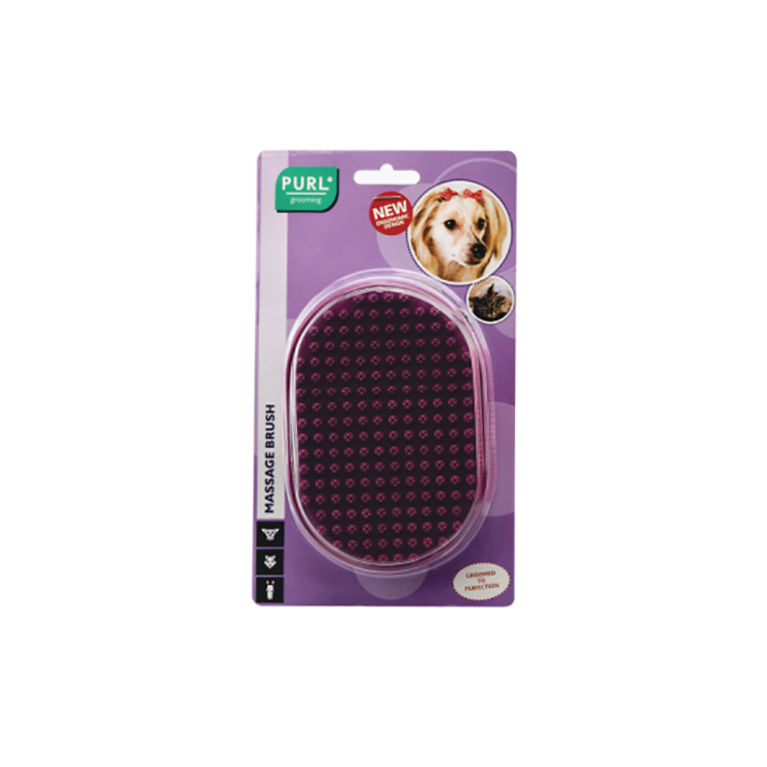 Purl Massage Brush (Purple)