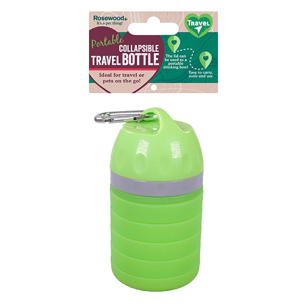 Rosewood Collapsible Travel Water Bottle