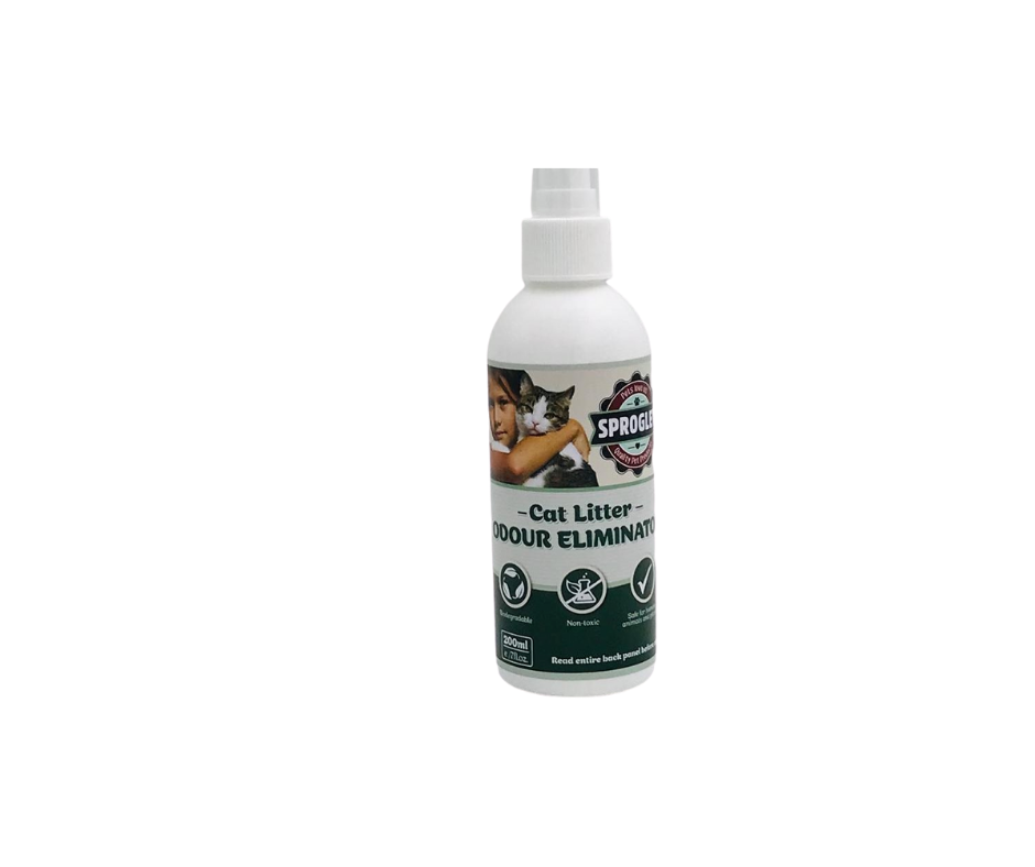 sprogley cat litter spray