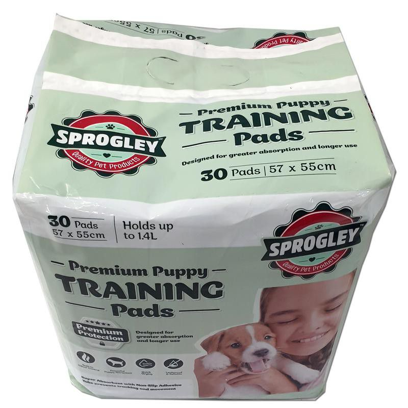 sprogley training pads