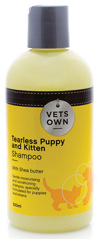 Vets Own Tearless Puppy and Kitten Shampoo - 250 ml