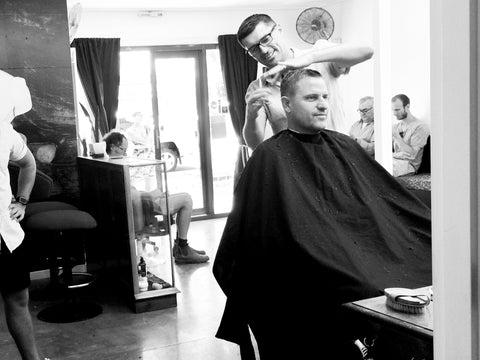 Byron bay barber shop