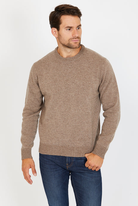 Crewneck Jumper, 100% Lambswool
