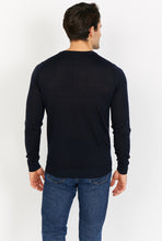 Load image into Gallery viewer, Lightweight V-Neck Jumper, 100% Merino Wool