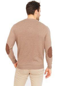 Cotton-Cashmere V-Neck Jumper