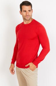 Lightweight Merino Wool Crewneck Jumper