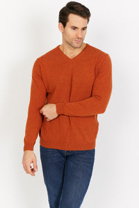 Lightweight lambswool V-Neck Jumper
