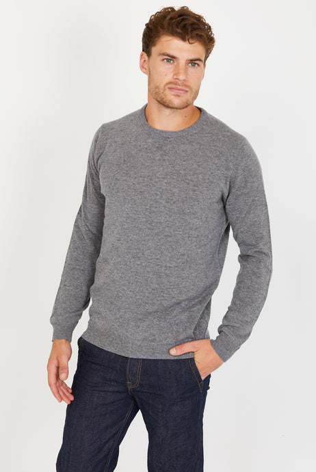 Lightweight Crewneck Jumper, 100% Lambswool