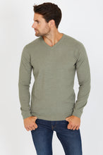 Load image into Gallery viewer, V-Neck Jumper, Merino Wool blend